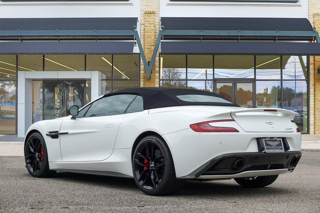 Certified Pre-Owned 2015 Aston Martin Vanquish Volante